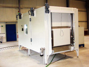 Durchlauftunnel Feutron Klimasimulation GmbH