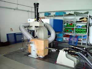 Klimagerät für externe Prüfräume Feutron Klimasimulation GmbH