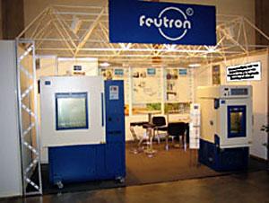 Messestand Feutron Klimasimulation GmbH